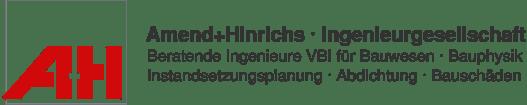 <strong class='client-strong'>Amend + Hinrichs</strong> Ingenieurgesellschaft mbH - Logo