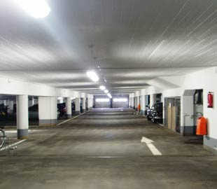 Tiefgarage, Parkdeck/ -dach, Hofkellerdecke